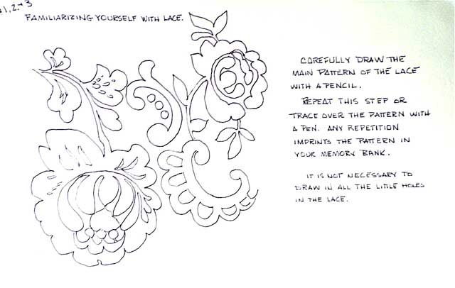 lace drawing pattern - photo #11